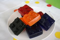Lego block melt and pour soap tutorial