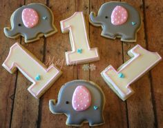 You can order the cookies of your dreams here! This listing is for: 1 dozen Elephant cookies. You will receive 6 of each cookie: Elephant and