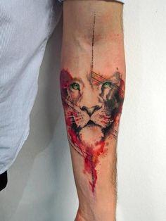 Upper Arm Tattoo Sleeve