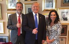 Trump's New Evangelical Board Member Falwell Gets Flack for 'Playboy' Issue.