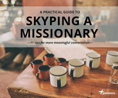 A practical guide to Skyping a missionary...Christmas and Mother's Day phone call