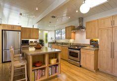 Woody Retro Kitchen Cabinets