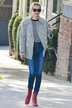 Le look d'Emma Roberts