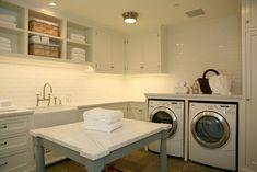 Cliffwood laundry room, Los Angeles. Morrow and Morrow.
