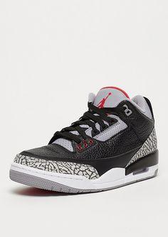 sports shoes 54987 bb911 Air Jordan 3 Retro OG Black Cement Sneaker bei SNIPES!
