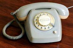 Onze eerste telefoon