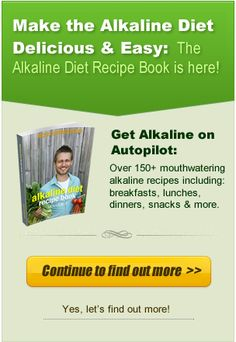WANT TO PREVENT CANCER BEFORE IT STARTS?? Alkaline Diet Recipe Book Banner