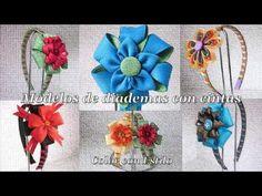Diademas con cintas. #diademas #vinchas #tiara #hairband #fitas #ribbons #cintas