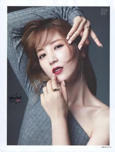 Chorong! SURE Magazine October Issue Scan | Cr: Timoball