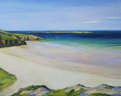 "Saatchi Art Artist: Ieva Baklane; Oil 2011 Painting """"At the Ocean"""""