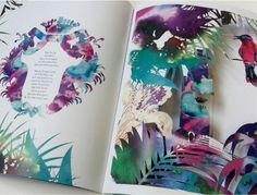 Julia Perrin new perfume Sisley/ Eau Tropicle : #juliaperrin #sisley #illustrator #beauty #erichennebertagency