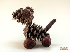 Toboz kutya - Ötletek termésekből - Manó kuckó