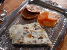 Blue Cheese and Dried Fruit Terrine - recipe from Laura Calder on French Food At Home - The Cooking Channel.