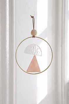Ladies & Gentlemen Studio Triangle Dome Wind Chime - Urban Outfitters