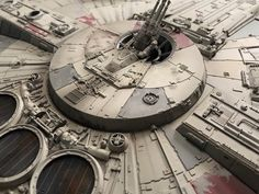 My Bandai Perfect Grade Millennium Falcon -finished! Star Wars Boba Fett, Star Wars Clone Wars, Star Wars Art, Lego Star Wars, Star Trek, Millennium Falcon Model, Perfect Grade, Star Wars The Old, Star Wars Models