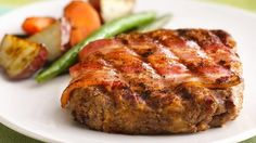 Love meat loaf? Make it on the grill for a summertime treat!