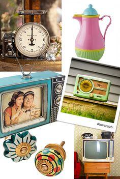 Colacorelinha por Ma Stump » Arquivos » Objetos retrô na decoração: personalidade para a casa