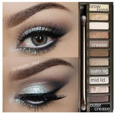 Urban decay Naked Pallette so amazing and beautiful