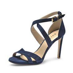 Evita »CARMEN« Sandalette für 230,00€. Evita Sandaletten aus Rauleder, Hoher Tragekomfort durch Lederinnensohle, Laufsohle aus Echtleder, High Heels bei OTTO
