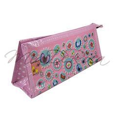 Rosa Schüttelpenal mit Blumen und Schmetterlingen Nathalie - MiaDeRoca Pencil Cases, Summer Fun, Preschool, Shops, Pink, Flowers, Bags, Pencil Boxes, Tents