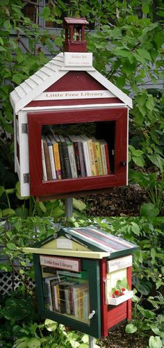 Take a book and take your time.  When your done perhaps go find  another that could take its place  And leave it in this little case  For someone new to take a few. In hopes they will enjoy it.