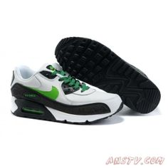the best attitude f3ffa 2374e 2014 New Air Max Homme Nike Air Max 90 Hyperfuse avec Noir  Gris  Vert