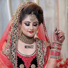 Wedding Couple Poses Photography, Photography Poses, Pakistani Bridal Makeup, Couple Posing, Wedding Couples, Hair Beauty, Hairstyles, Bride, Cute