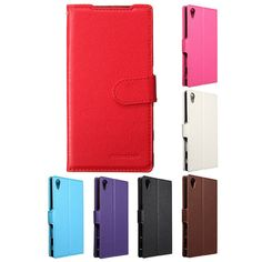 Mohoo Magnetic Flip Leather Wallet Card Case For Sony Xperia Z5 5.2 Inch