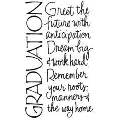 Discover and share Senior Graduation Quotes From Parents. Explore our collection of motivational and famous quotes by authors you know and love. Graduation Celebration, Graduation Party Decor, Graduation Ideas, Graduation 2015, Graduation Photos, Grad Parties, Graduation Card Sayings, College Graduation Quotes, Graduation Greetings