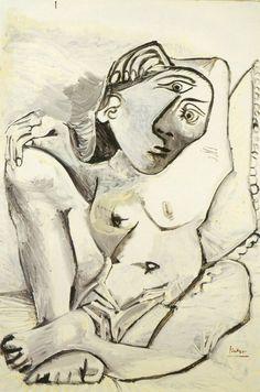 1969 Jacqueline à l'oreiller - Picasso