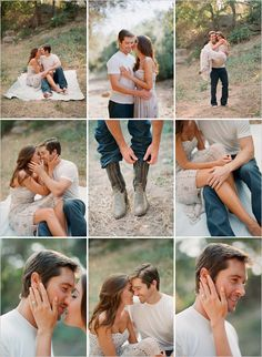Love these engagement photos!