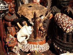 PALO MAYOMBE is an African Diasporic religion that originated in the Congo region of Africa. Practice and worship in Palo is centered around Prendas, which are consecrated pots that contain sticks, bones, dirts and herbs that are sacred to particular Gods & Goddesses of Palo. Prendas are very powerful in the hands of a trained Palero, and can be utilized to perform many functions. Paleros work with Allys (Spirit Guides) to obtain information