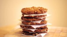 Tasty treat: A classic Australian treat, the recipe for the perfect Anzac biscuit (above) has been debated over the years Syrup Recipes, Easy Anzac Biscuits, Yummy Treats, Yummy Food, Delicious Recipes, Raw Food Recipes, Cooking Recipes, Biscuit Recipe