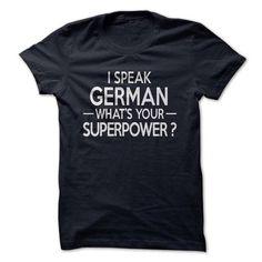I Speak German! - #statement tee #tshirt couple. ACT QUICKLY => https://www.sunfrog.com//I-Speak-German.html?68278