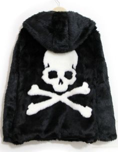 To find out about the Black Hooded Long Sleeve Skull Print Coat at SHEIN, part of our latest Outerwear ready to shop online today! Grunge Style, Cool Outfits, Fashion Outfits, Womens Fashion, Pastel Goth Fashion, Skull Fashion, Skull Print, Gothic, Looks Cool