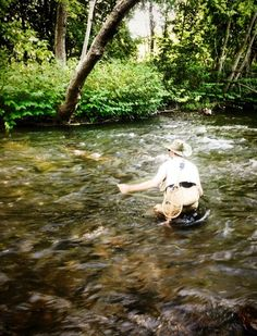 Fly Fishing Small Stream Wild Brown Trout with Jim Misiura