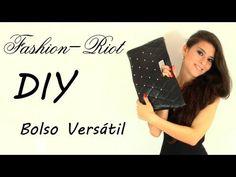 YouTube Diy Clutch, Diy Purse, Clutch Purse, Leather Bag Tutorial, Ladylike Style, Craft Tutorials, Bag Tutorials, Diy Handbag, Diy Fashion