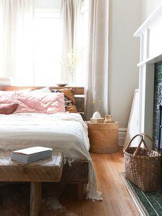 Globally Inspired Bedrooms: Soft & Serene