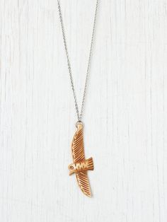 Free People Bird Pendant http://www.freepeople.com/whats-new/bird-pendant/