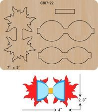 New BOW Wooden die Scrapbooking Cutting DiesThe thickness is and is compatible with most leading machines. Handmade Hair Bows, Diy Hair Bows, Pop Up Flower Cards, Bow Template, Hair Bow Tutorial, Bow Pattern, Boutique Hair Bows, Making Hair Bows, Ribbon Bows