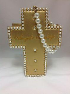 Milky Cross Bag in Gold from Angelic Pretty - Lolita Desu