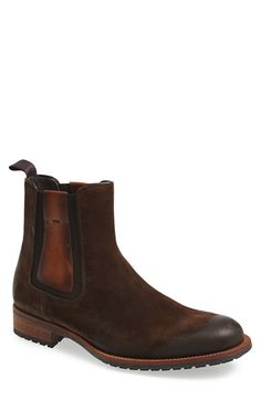 Free shipping and returns on Magnanni 'Granada' Chelsea Boot (Men) at Nordstrom.com. Well-worn suede shapes a hearty vintage-style boot fitted with elastic gores for a custom fit.