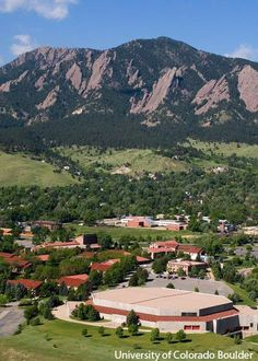 Another amazing view at #CUBoulder