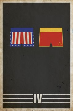 Rocky IV (1985) - Minimal Movie Poster by Matt Owen ~ #mattowen…