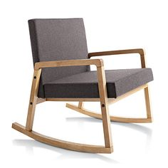 curtis storm rocker in chairs | CB2