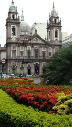 Igreja de Na Sa da Candelária (Praça Pio X -  Centro) Rio de  Janeiro - Brasil (1811)