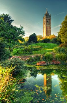Cabot Tower ~ constructed in 1898 to commemorate the 400th Anniversary of John Cabot's discovery of Newfoundland, and Queen Victoria's Diamond Jubilee  Bristol,England.