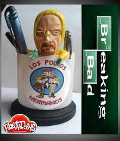 Cold porcelana, porcelana fría, breaking bad, mr White, heisenberg, Brian cranston, sculpture