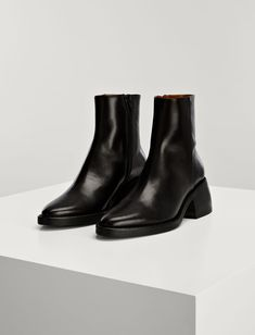 Calf Leather Templer Boots