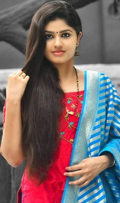 Beautiful Girl Photo, Beautiful Girl Indian, Most Beautiful Indian Actress, Beautiful Saree, Most Beautiful Women, Beauty Full Girl, Cute Beauty, Beauty Women, Indian Long Hair Braid